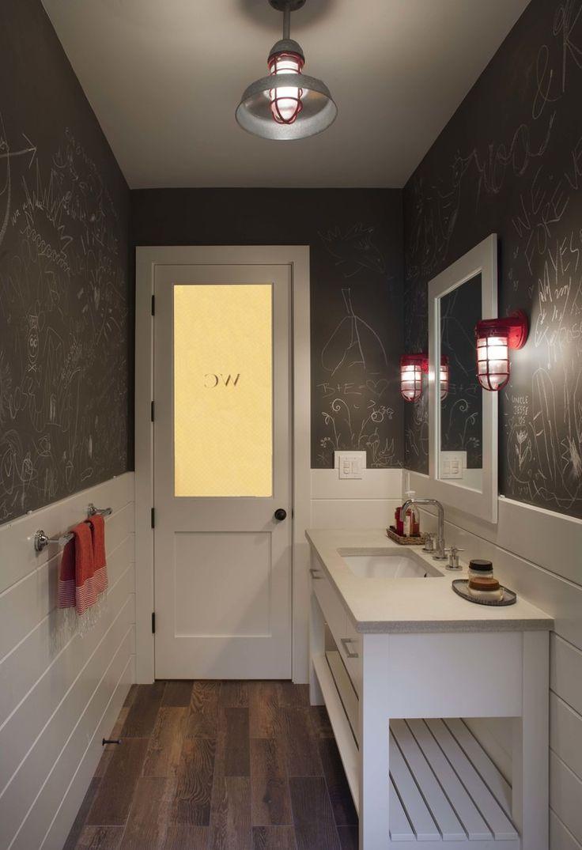 21 Unconventional Chalkboard Bathroom D 233 Cor Ideas Digsdigs