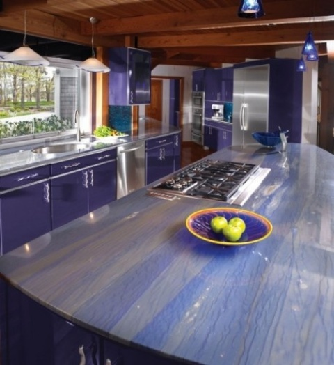 45 Unique Kitchen Countertops Of Different Materials ...