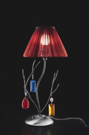a branch-inspired table lamp design