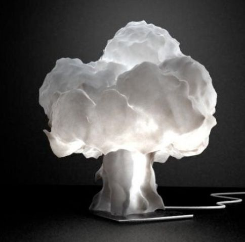 a cool modern cloud table lamp is a unique decor solution to rock, it will bring interest with its design