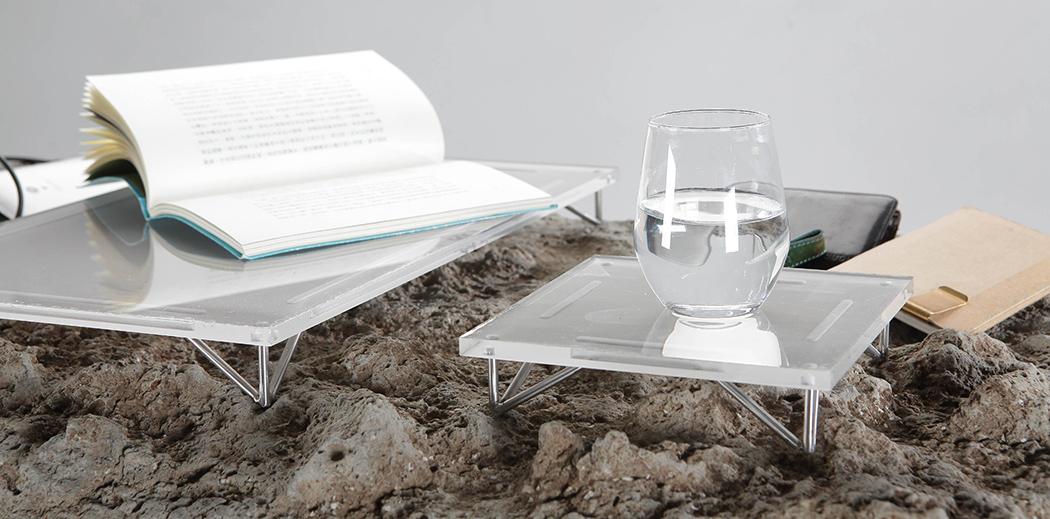 Picture Of unique desk that mimics natural landscape  2