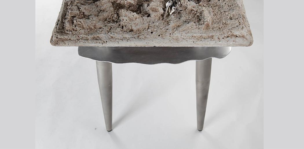 Picture Of unique desk that mimics natural landscape  5