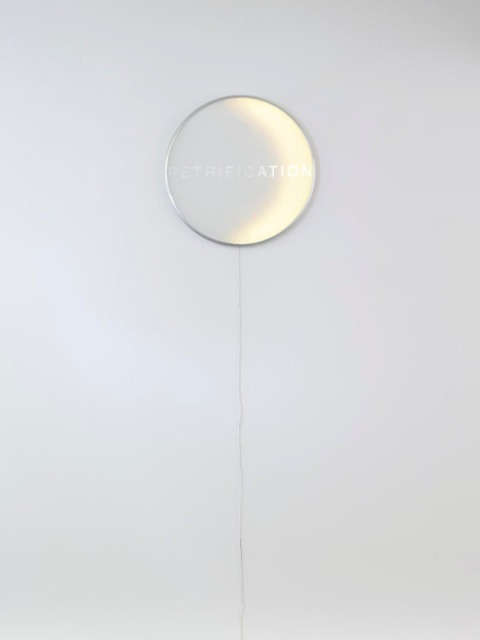Unique Eclipse Clock And Minimal Art Object In One