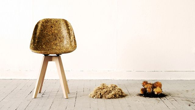 Unique Furniture Pieces Made Of Food Waste