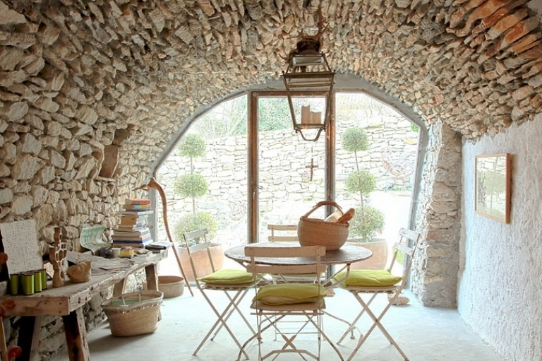 Unique house of rough wood and stone digsdigs Italian country home plans