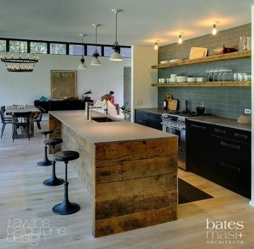 Unique Kitchen Island Classy 64 Unique Kitchen Island Designs  Digsdigs Review