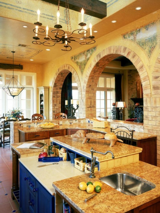 Charming Unique Kitchen Island Designs