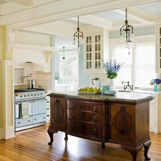 Kitchen Design Images Small Kitchens Unique Small Kitchen: 64 Unique Kitchen Island Designs