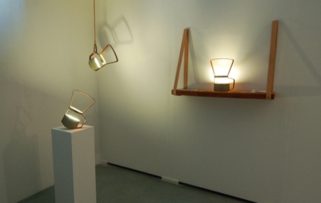 Unique Lanterns Nomadic Lamps From Leather And Concrete