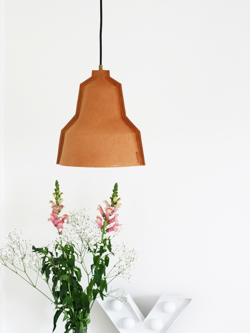 Picture Of unique lloyd handmade leather lamp  2