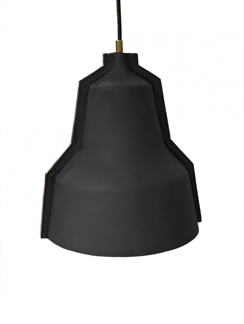 Picture of unique lloyd handmade leather lamp 5 - Unique handmade lamps ...