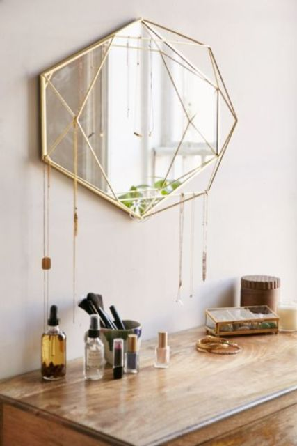 26 unique modern mirrors that completely change the space digsdigs