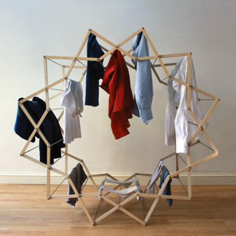 Practical And Unique Star Shaped Clothes Horse Digsdigs