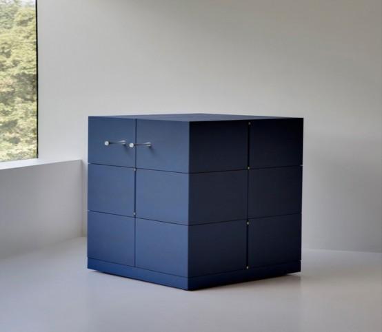Unique Transforming Cubrick Storage Cabinet