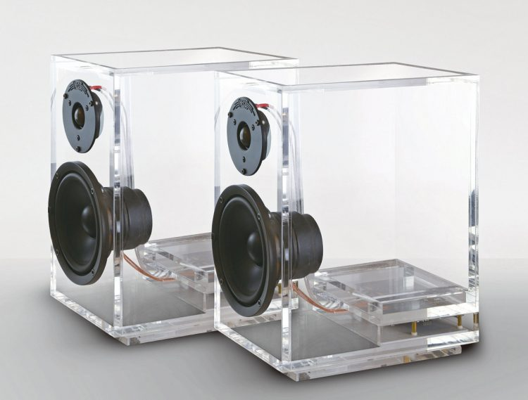 Unique Transparent ONEclassic Speakers