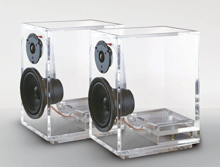 Unique Speakers unique transparent oneclassic speakers - digsdigs