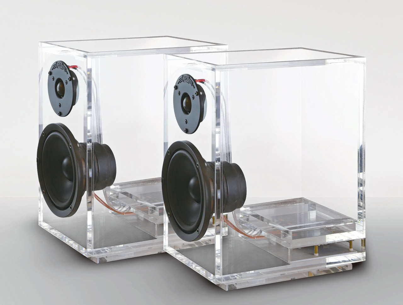 Picture Of unique transparent oneclassic speakers  1