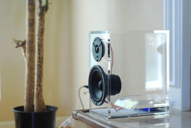 Picture Of unique transparent oneclassic speakers  4