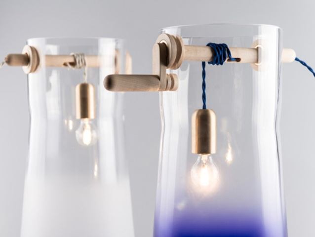 Unique Well Light Inspired By Traditional Water Wells