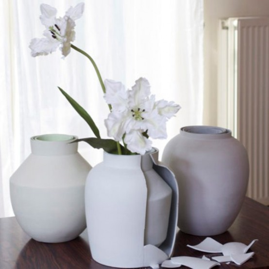 Unusual Curious Vase Of Matryoshka Type