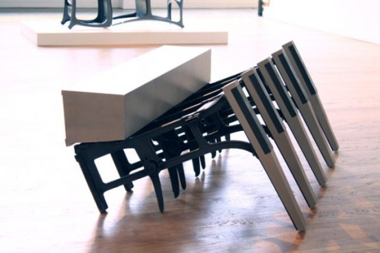 Unusual Furniture Of Discarded Materials