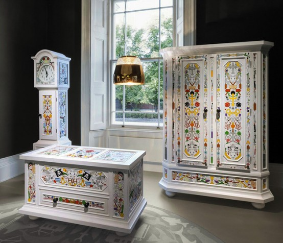Unusual Playful Furniture Colelction By Moooi