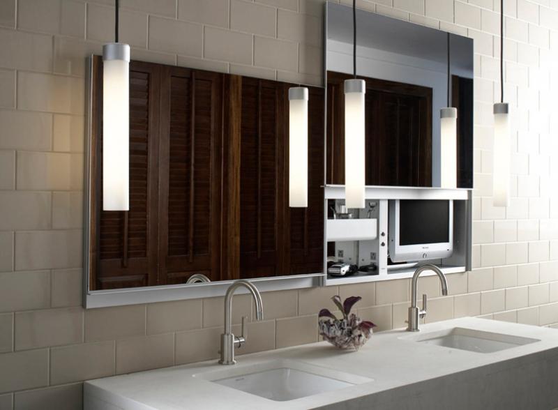 Modern Bathroom Medicine Cabinets - UpLift by Robern - DigsDigs