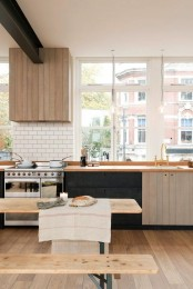 Urban Rustic Kitchen With Industrial Touches And Contrasts