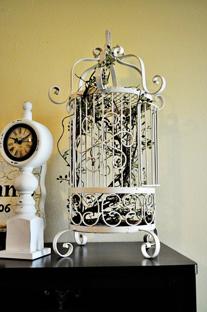 Using Bird Cages For Home Decor Beautiful Ideas