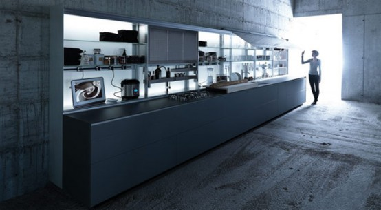 Extremely Ergonomic Kitchen Design – New Logica by Valcucine