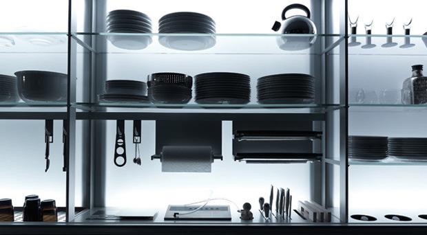 Extremely ergonomic kitchen design new logica by for Ergonomic kitchen design