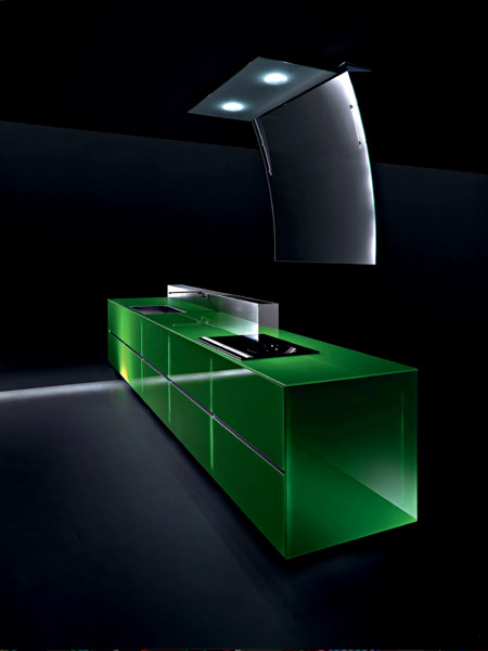 100% Recyclable Kitchen by Valcucine