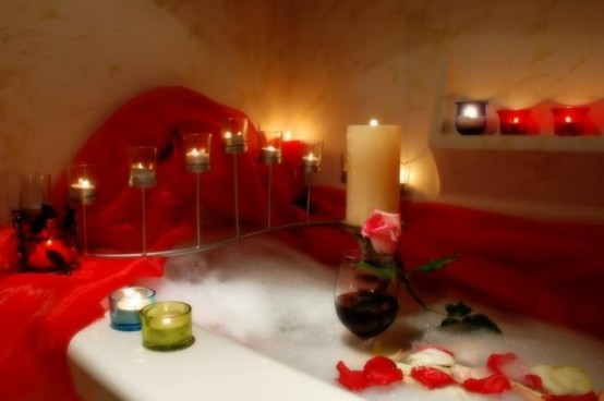 Spectacular Valentines Day Bathroom Decor Ideas
