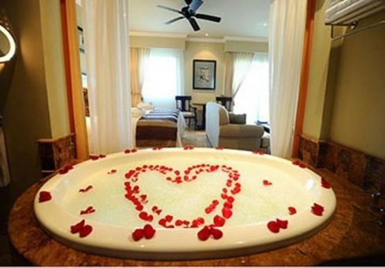 Elegant Valentines Day Bathroom Decor Ideas