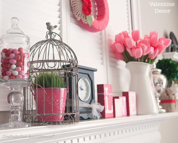 valentine day decor pinterest