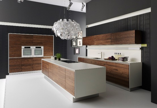 Handle-Less Natural Kitchen Design – Vao by Team7