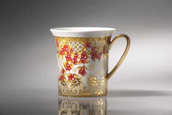 Versace Real Christmas Mug