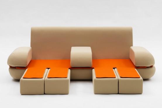 Versatile Sofa Dynamic Life