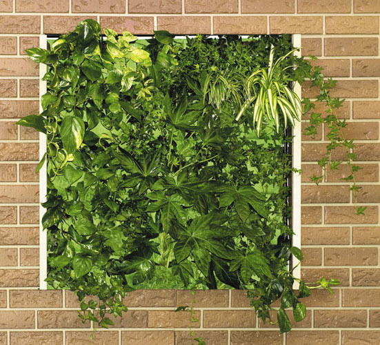How To Decorate Garden Brick Wall 5 Ideas To Make It: 25 More Cool Vertical Garden Inspirations