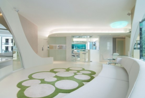 ... Apartment Design Inspired By Nature – Living Pod by Joey Ho Design