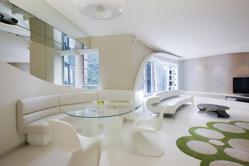 Attractive Very Modern Apartment Design Inspired By Nature Nice Design