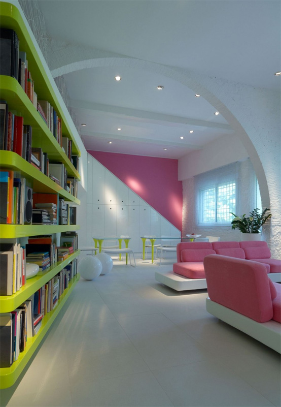 very modern home full of light and color digsdigs