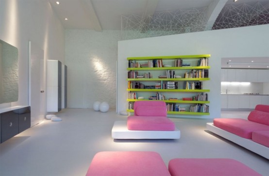 Very Modern Home Full Of Light And Color