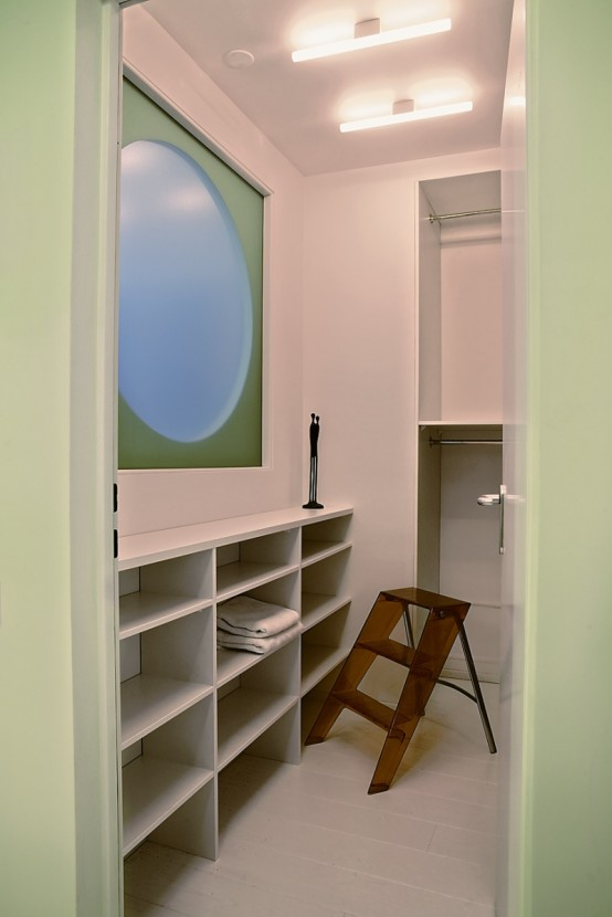 very small apartment. Very Small Modern Apartment Interior With A Free Layout Of