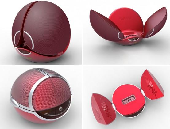 Vestalife Firefly and Jewelbox iPod speaker