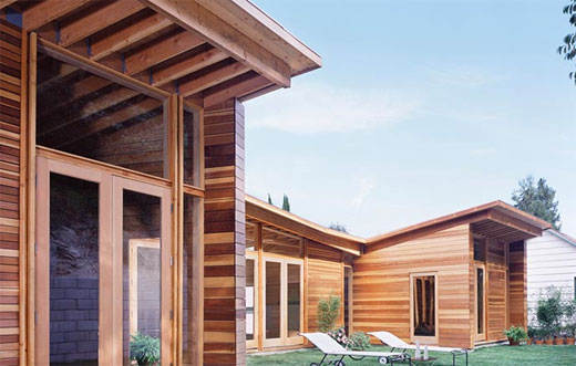 Vhouse Wooden Home by XTEN Architecture