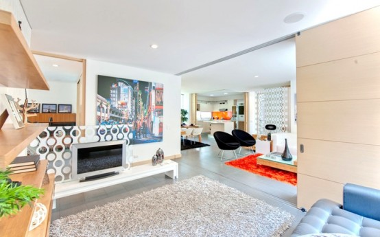 Vibrant And Energetic Home Interior By Mao Lopez