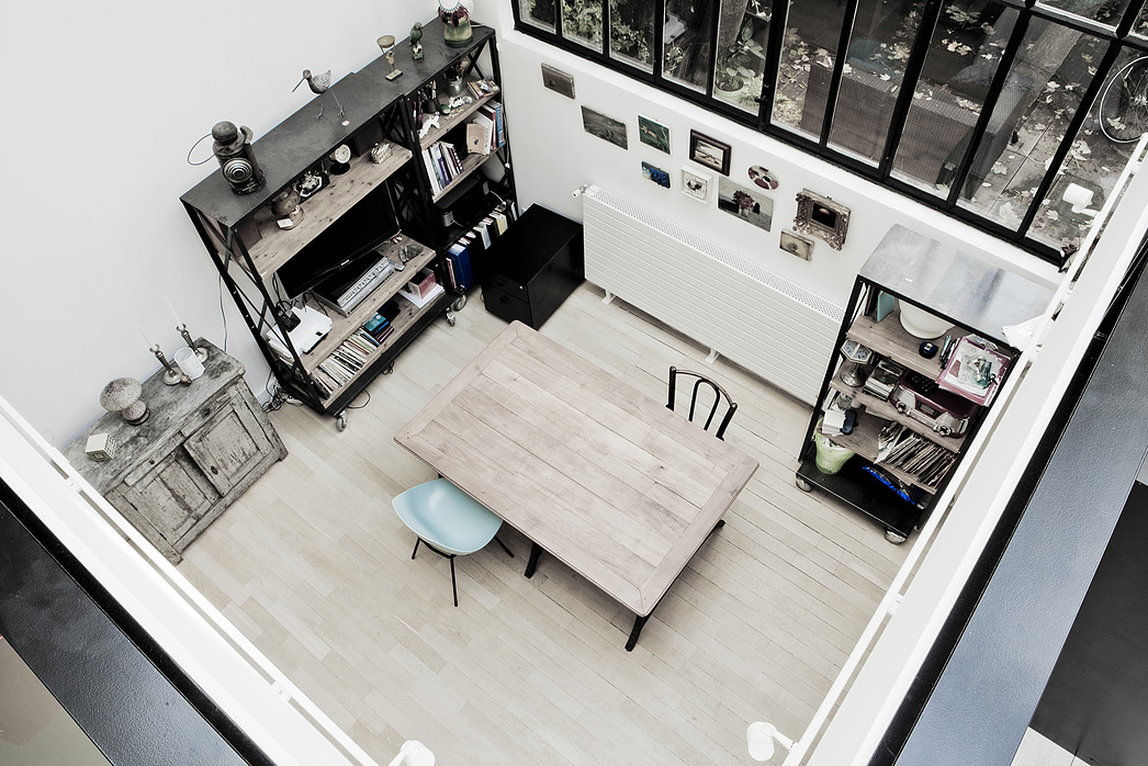 Picture Of vintage and industrial loft with much personality  4