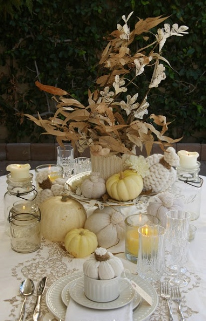 24 Vintage And Shabby Chic Thanksgiving D 233 Cor Ideas
