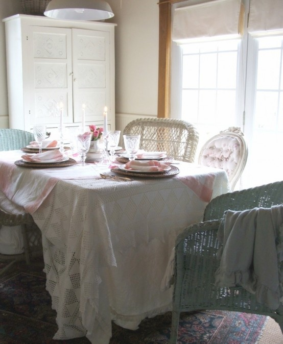 Vintage And Shabby Chic Thanksgiving Decor Ideas